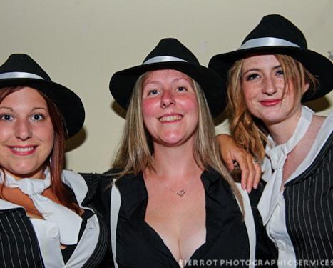 Cromer carnival fancy dress gangster molls