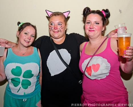 Cromer carnival fancy dress three pretty girl