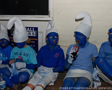 Cromer carnival fancy whole family of smurfs