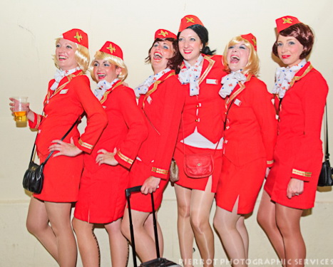 Cromer Carnival fancy dress virgins looking for an experienced pilot