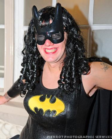 Cromer carnival fancy dress batwoman