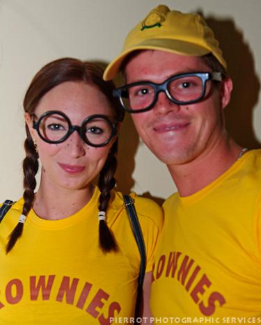 Cromer carnival fancy dress couple dressed