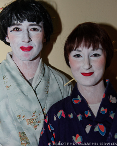 Cromer carnival fancy dress dressed as japanese