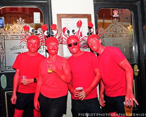 Cromer carnival fancy dress - Cromer crabs