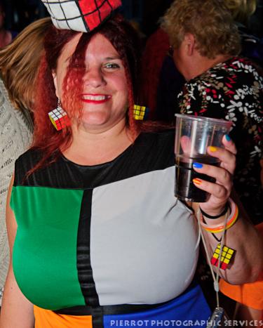 Cromer carnival fancy dress rubic cube