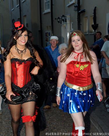 Cromer carnival fancy dress superwoman