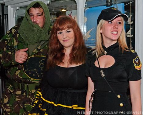 Cromer carnival fancy dress vice cops