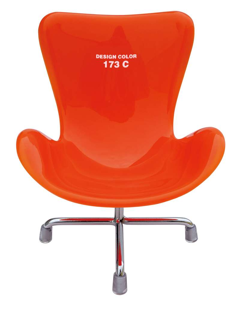 Designer Sessel Orange Handyhalter Handy Ablage Sessel Designer Chair Orange