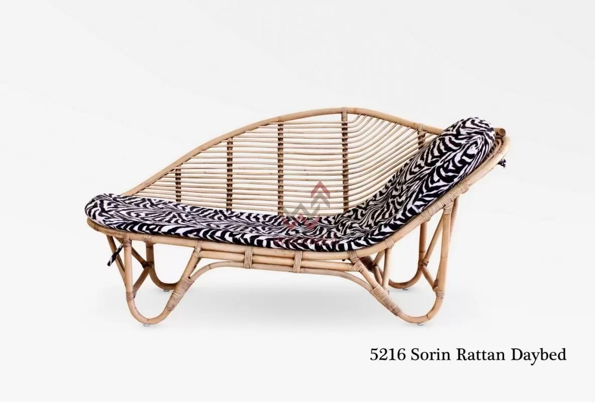 Wholesale Suppliers Indonesia Sorin Rattan Daybed Rattan Miscellaneous Manufacture Asia Furniture