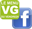 Menu VG sur Facebook