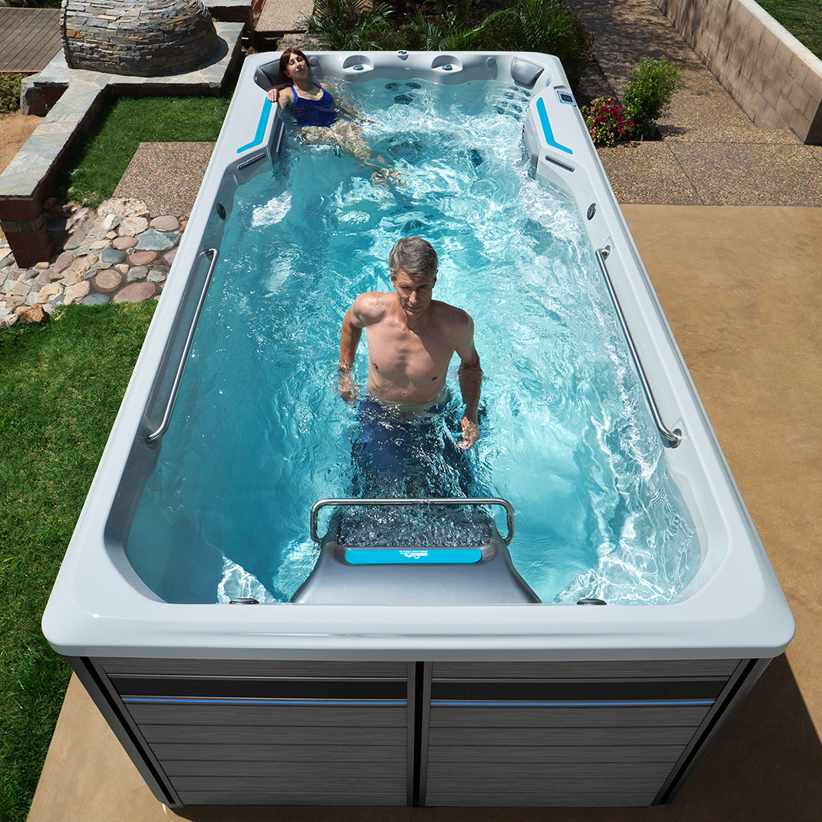 Jacuzzi Endless Pool Underwater Treadmill Presqueisle
