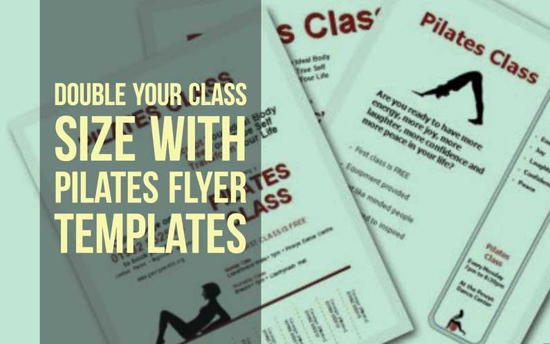 Pilates Flyer Templates