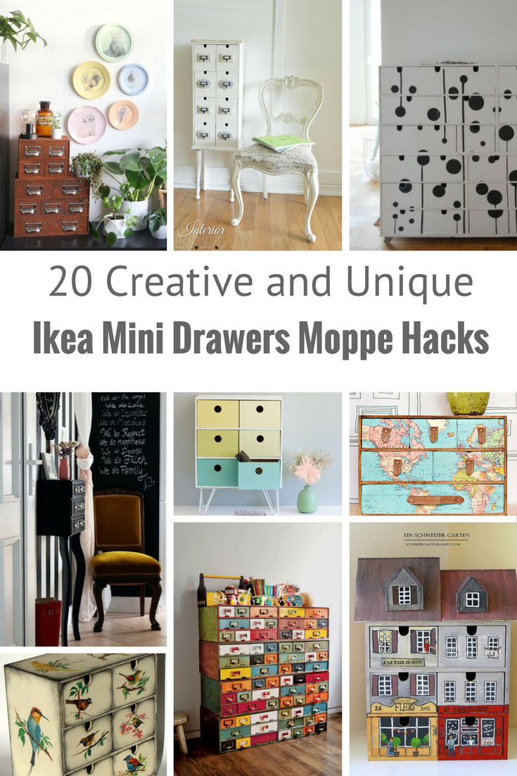Garten Lounge Cube Family The Most Unique Ways To Hack Moppe Ikea Mini Drawers Pillar Box Blue