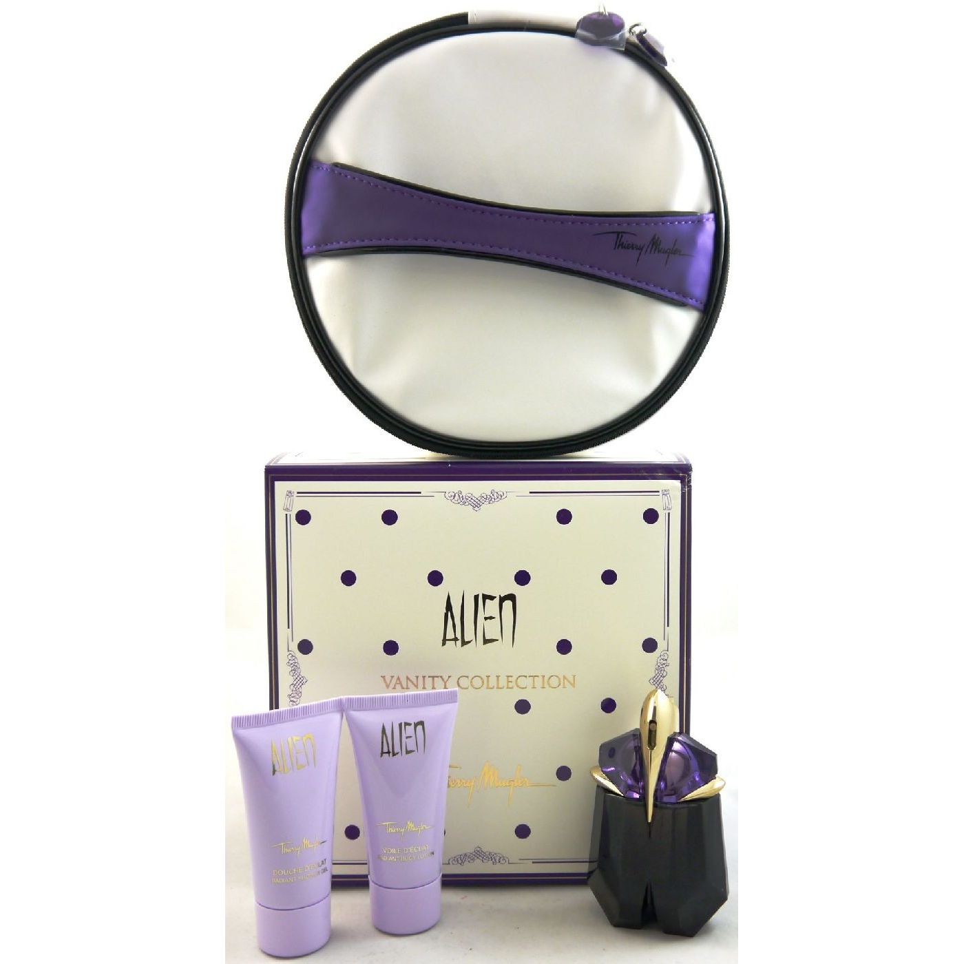 Bad Set Creme Thierry Mugler Alien Set 30 Ml Edp And 30 Ml Bl And 30 Ml Sg