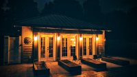 Pool house lighting-inside and out - Pilosi Electric