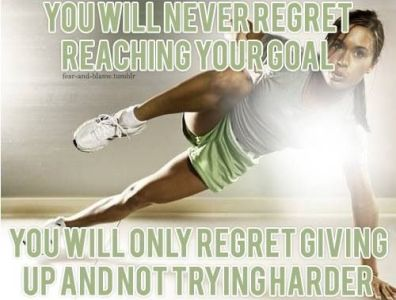You will never regret reaching your goal #Inspiration #Training #Motivation #run #fitness {PilotingPaperAirplanes.com}