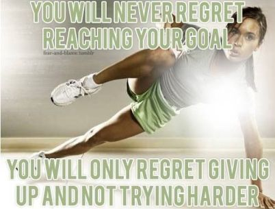 You will never regret reaching your goal #Inspiration #Training #Motivation #run #fitness {PilotingPaperAirplanes.com}