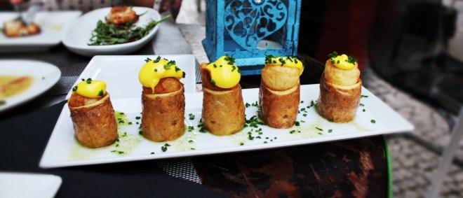 Mesón Andaluz gefüllte Kartoffeln