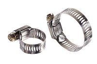 """Stainless Steel (SS) Hose Clamps, 7/32 to 5/8"""", box of 10 ..."""