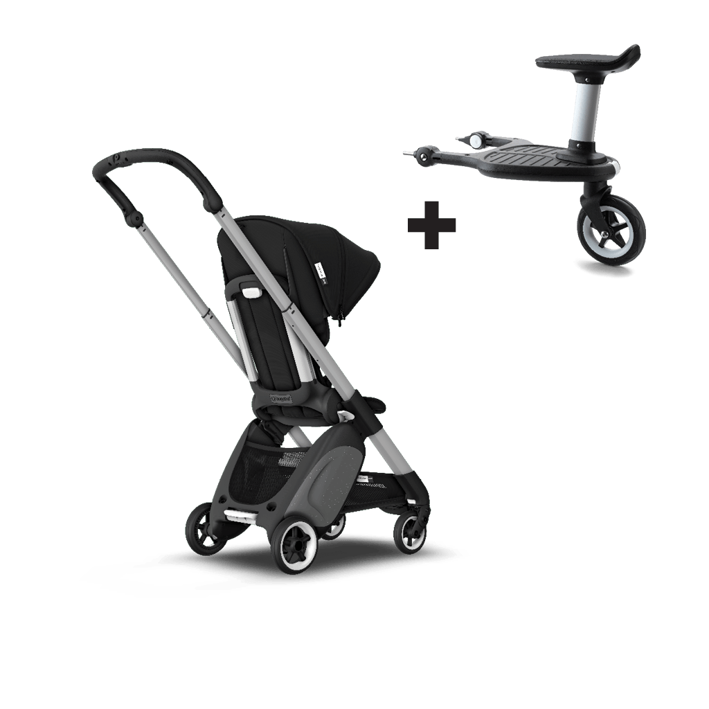 Babyzen Yoyo Vs Bugaboo Bee 3 Bugaboo Ant Sit And Stand Travel Stroller Black Sun Canopy Black Fabrics Aluminium Chassis