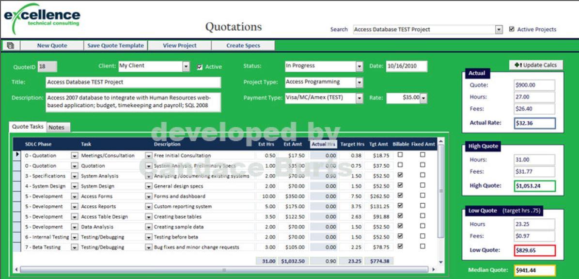 Database Programming  Design by DataSavvy 875 - Freelancer on Guru