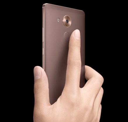 Huawei Mate 8 lector de huellas