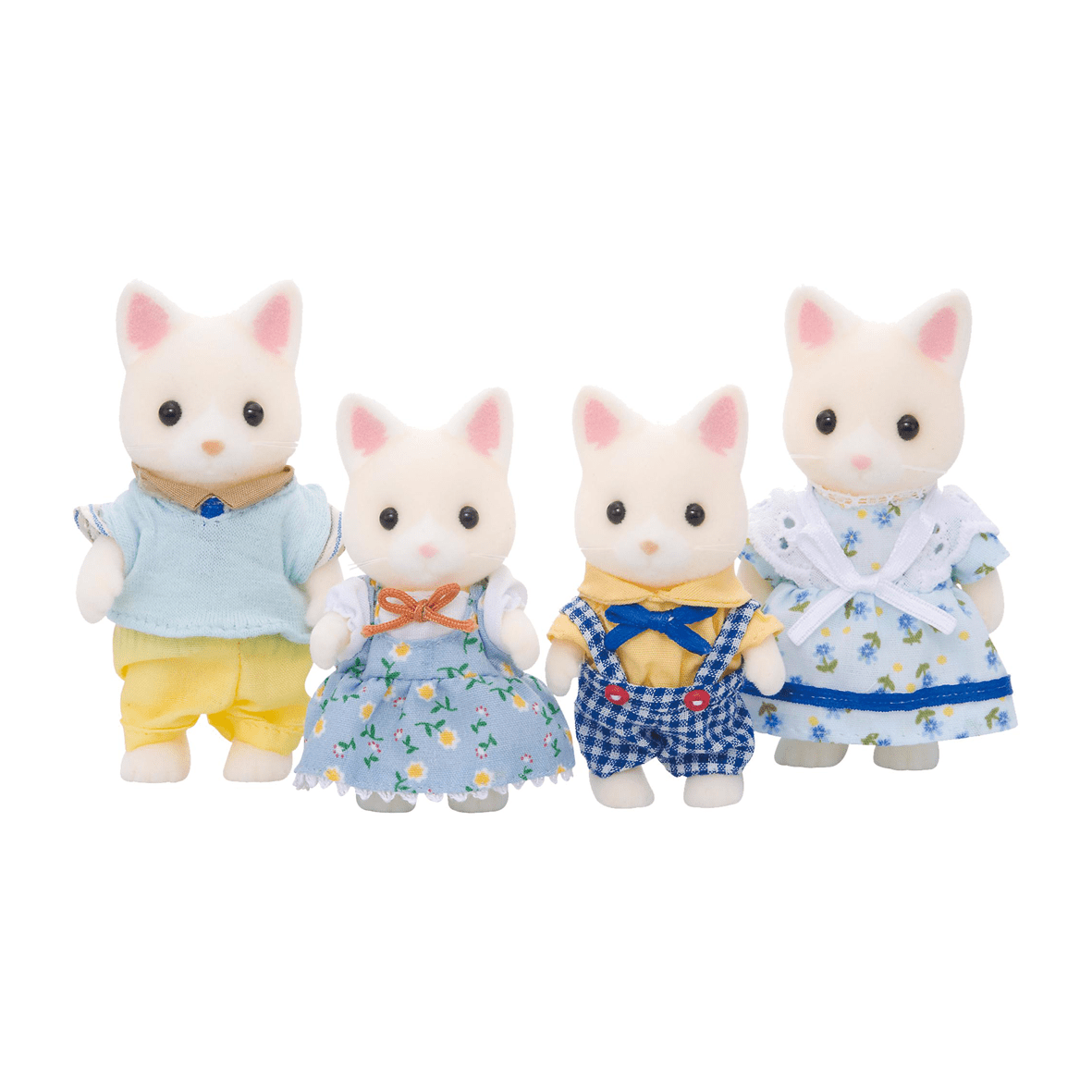Poes Speelgoed Sylvanian Families Familie Poes Wit