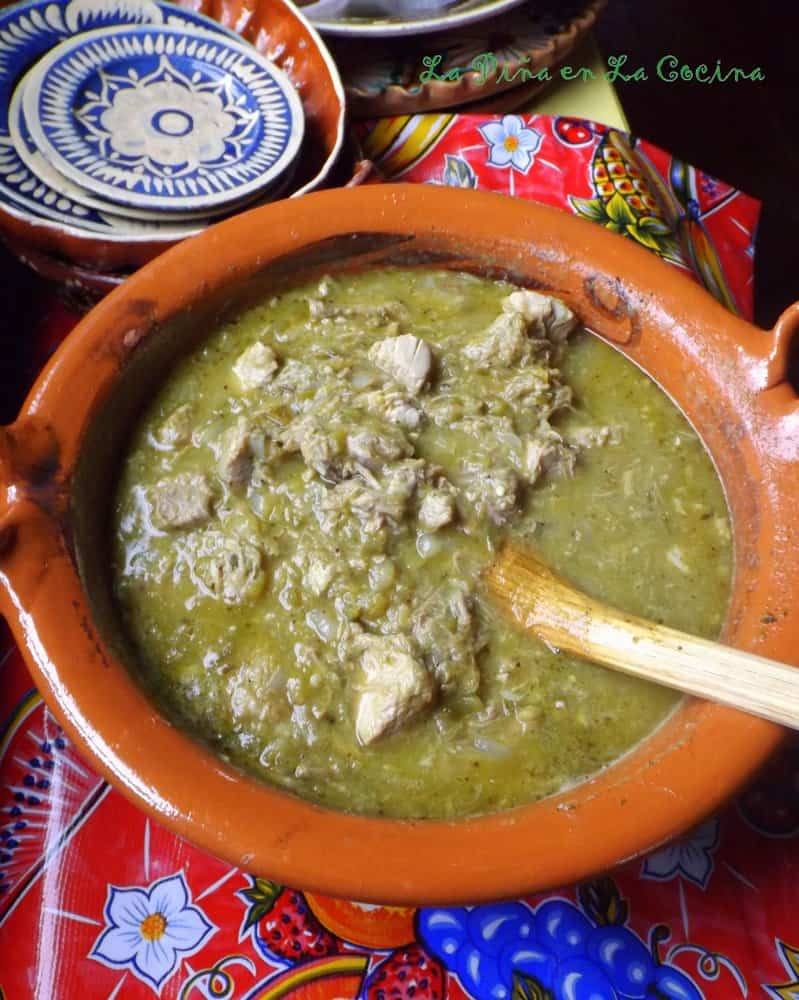 Cocina Verde Recipes Pork Chile Verde W Potatoes