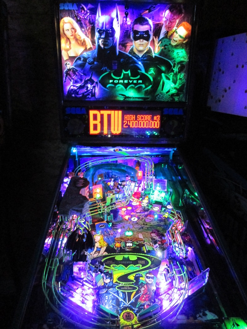 Professional Lighting Kit For Video High Quality Batman Forever Pinball Ultimate Led Lighting