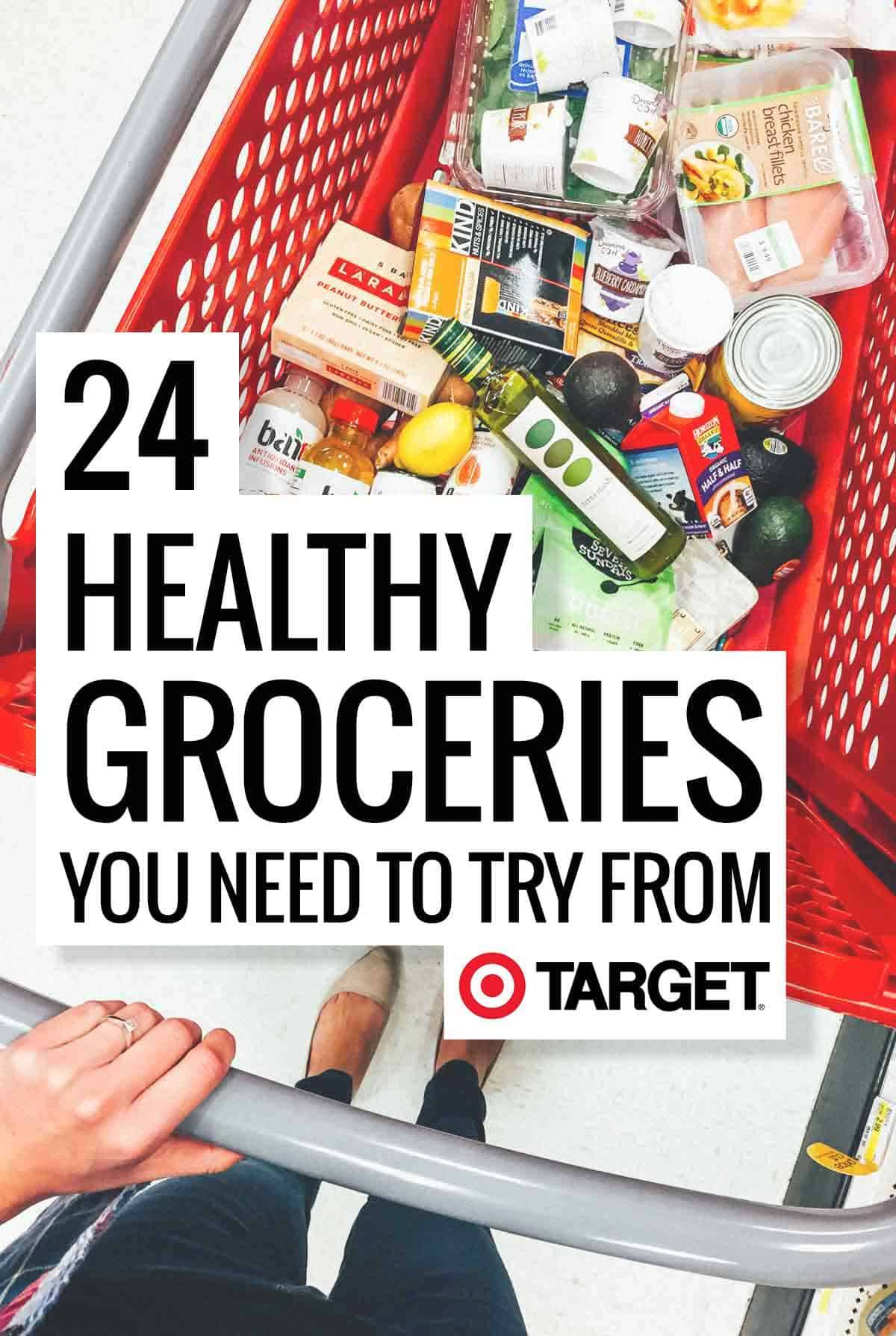 Bad Shop 24 24 Healthy Groceries You Need To Try From Target Pinch Of Yum