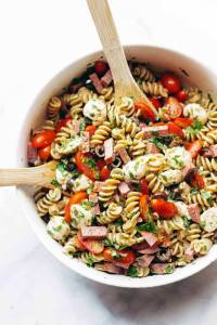 Best Easy Italian Pasta Salad Recipe - Pinch of Yum