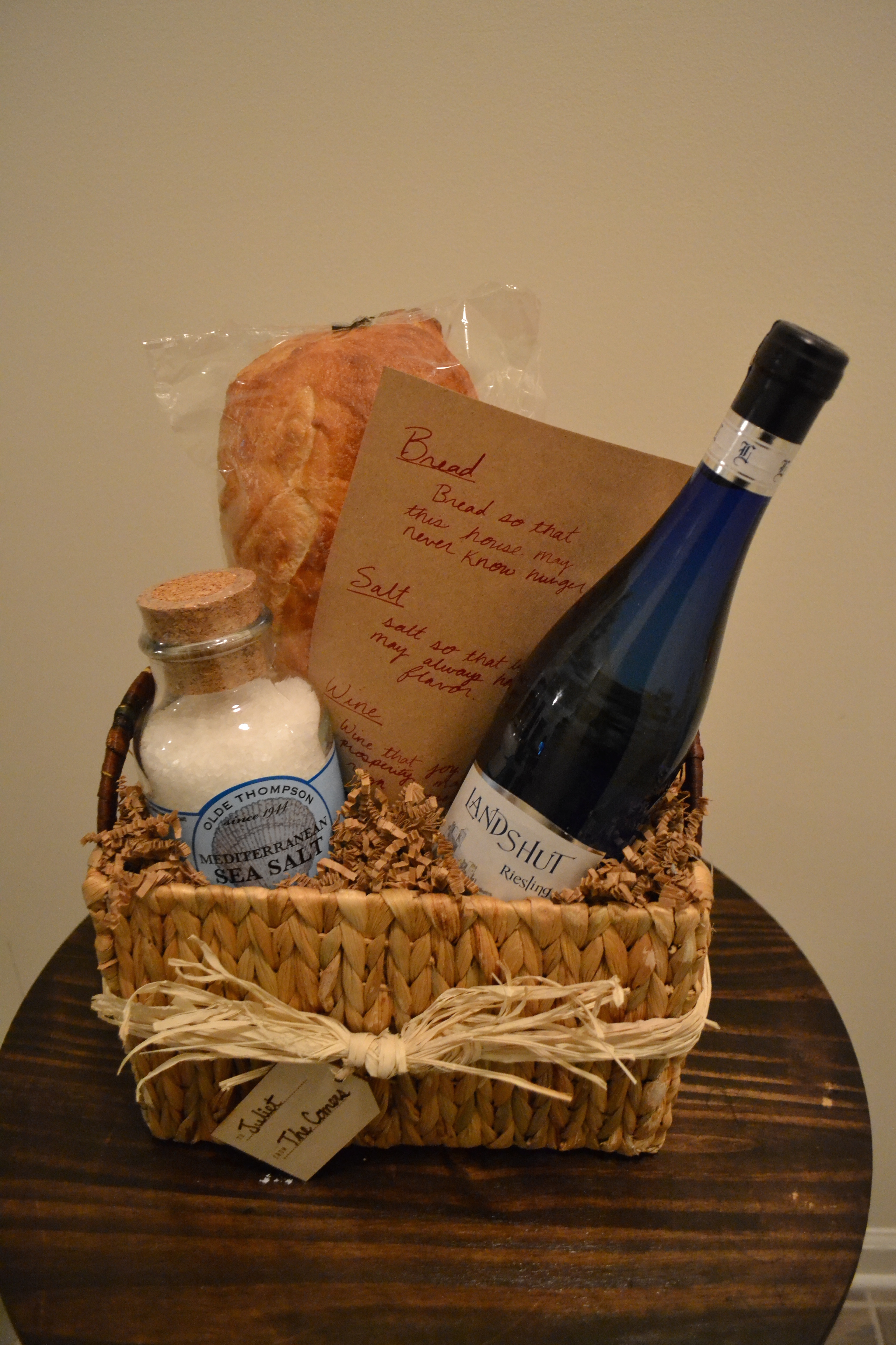 What Is A Nice Housewarming Gift Bread Salt Wine Three Items To Warm The Home Pinch