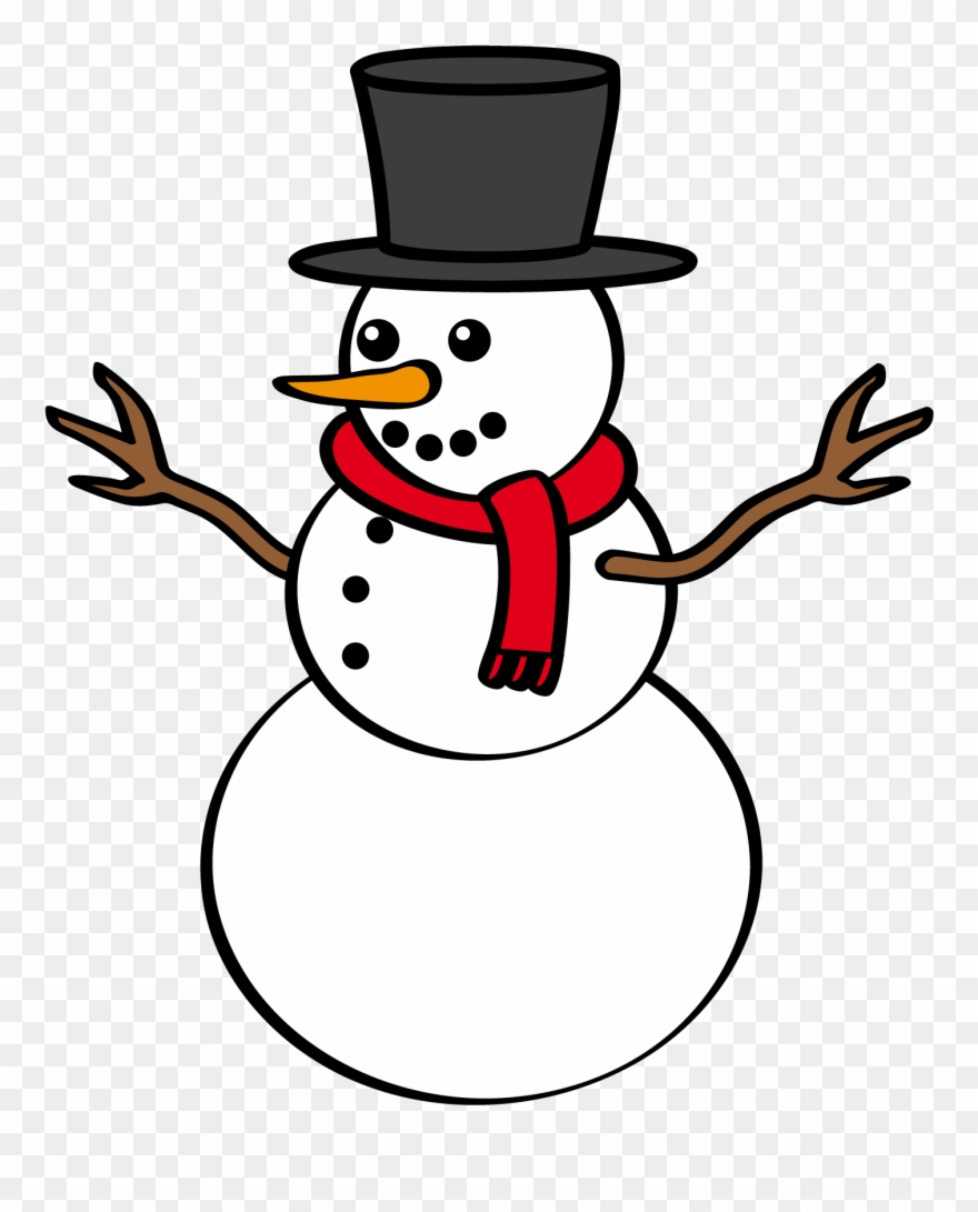 Snowman Frosty The Snowman Transparent Clipart 2347 Pinclipart