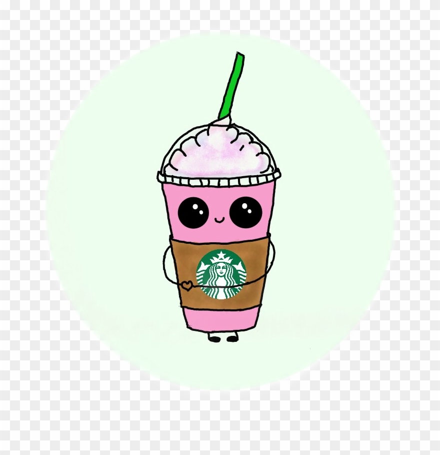 Cute Stickers For Facebook Sticker Starbucks Cute Kawaii Cutestickers Cuteface Clipart