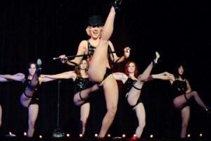 Elisa Davis of Dallas Performs 'New York, New York'.  Photo: Ben Britt