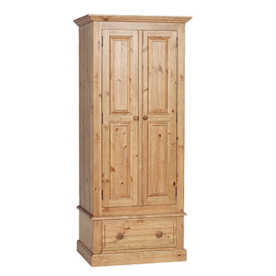 tempest with double furniture bedroom pine reclaimed wardrobe item drawer added