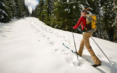 Backcountry Nordic Xc Snowshoe Rentals From Pine Mtn