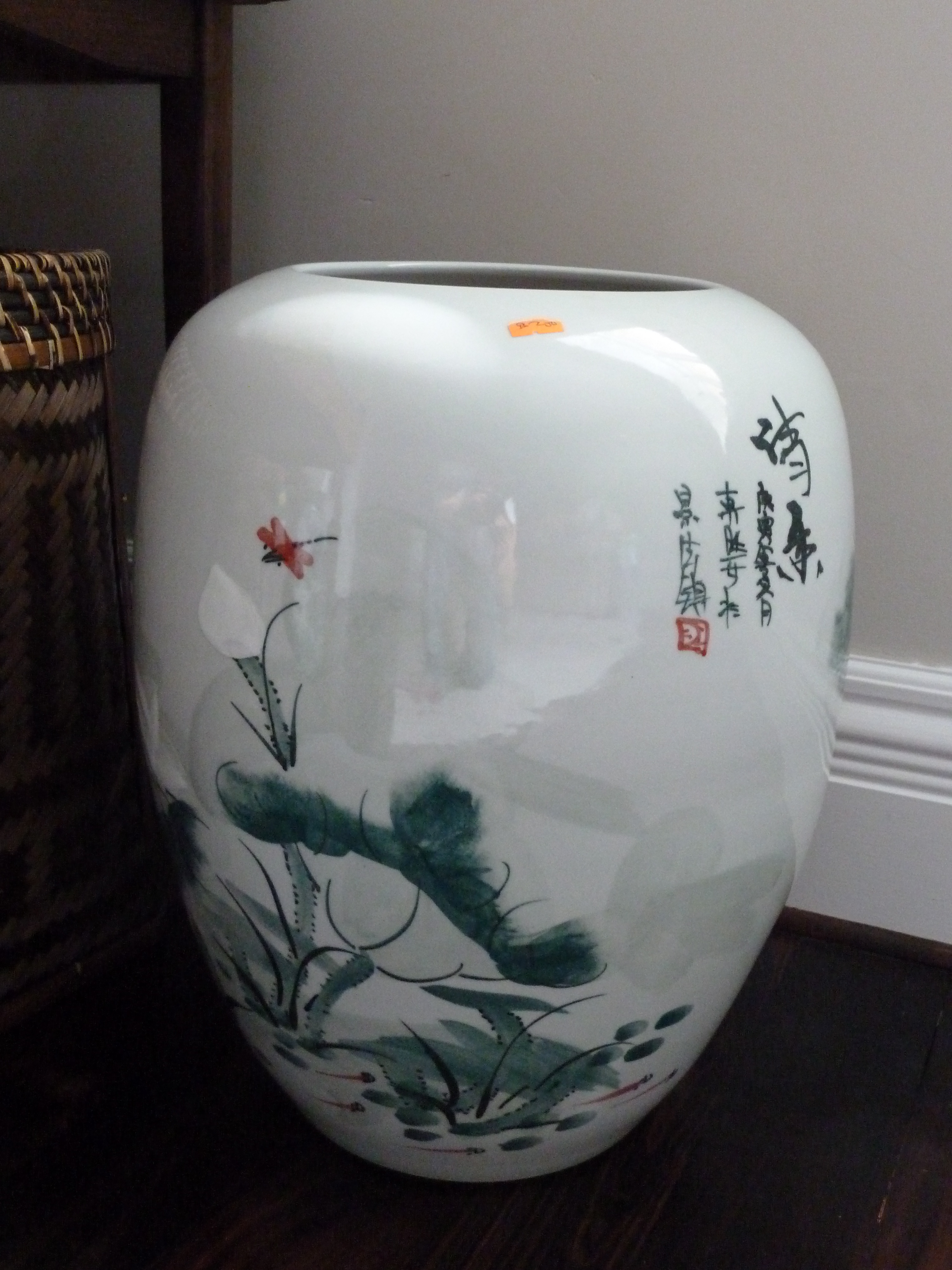 Porcelain Planters Ceramic Chinese Ceramic Pots Oriental Meets English Country