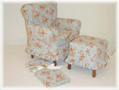 Fridays Featured Slipcovers Pink Polka Dot