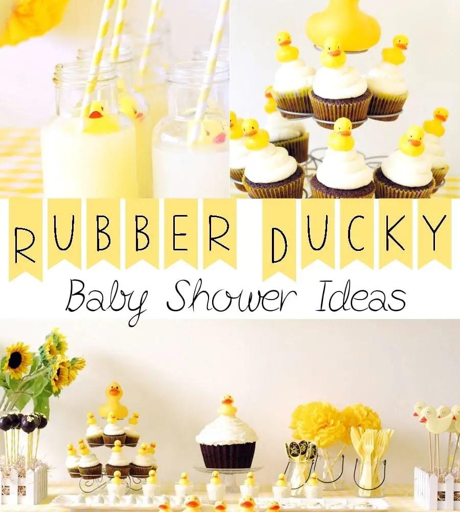 Rubber Ducky Baby Shower Ideas
