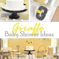 Giraffe Baby Shower Ideas