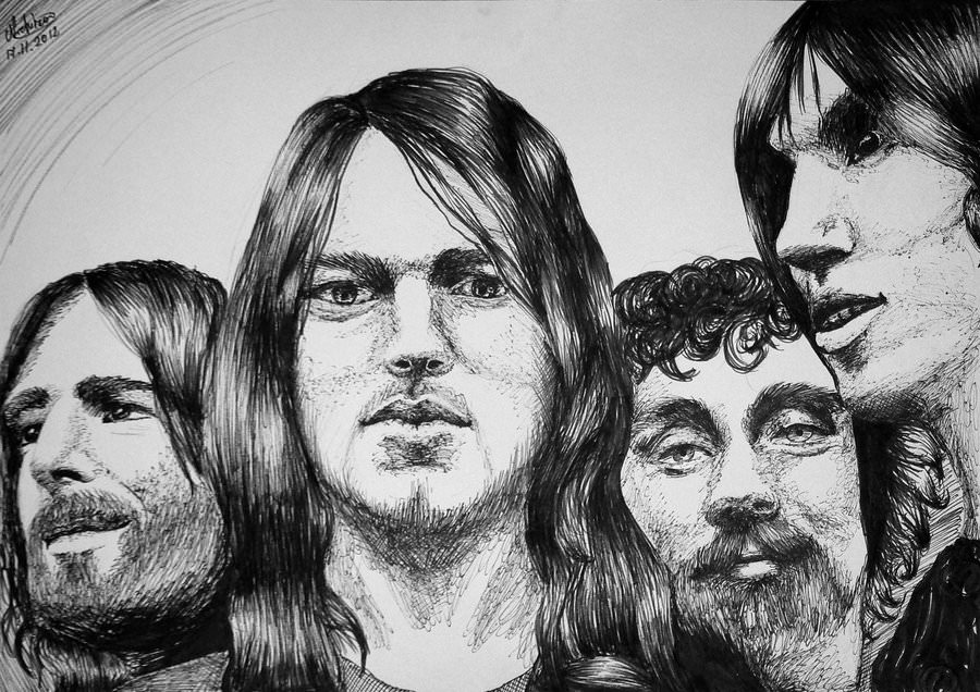 Rock N Roll Wallpaper For Girls The 30 Best Pink Floyd Drawings And Artworks