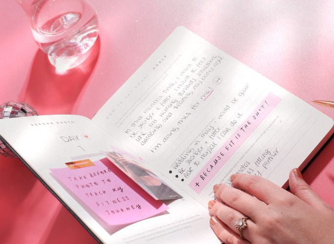 How To Use A Fitness Planner To Smash Your Goals In 2019 - Pink Is
