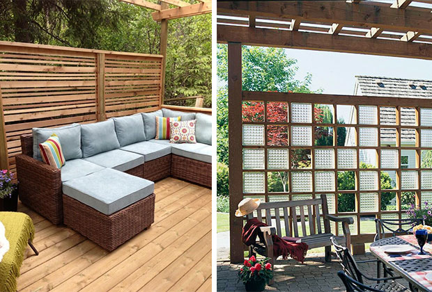 Outdoor Privacy Wall Ideas