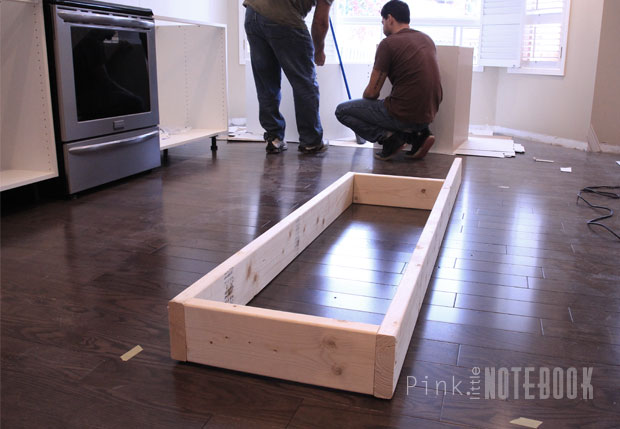 Building A Kitchen Island With Ikea Cabinets Creating An Ikea Kitchen Island - Pink Little Notebookpink