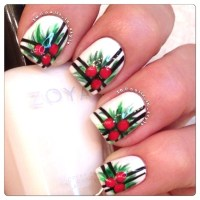 Best Christmas Nail Art Designs - Pink Lover