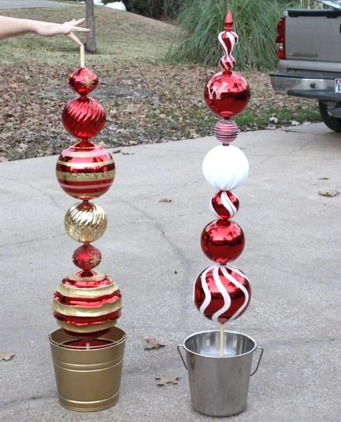 attractive diy outdoor christmas decorations