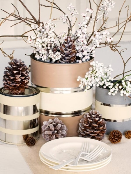 50 Most Beautiful Christmas Table Decorations - Pink Lover - christmas table decorations pinterest