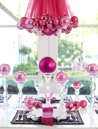 50 Best DIY Christmas Table Decorations - Pink Lover