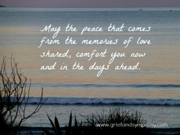 Sympathy Card Messages, Quotes and Sayings - Pink Lover - funeral words for cards